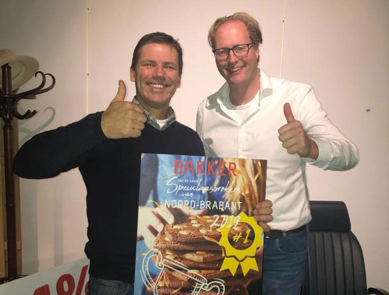 Wederom Beste speculaasbrokken van Noord-Brabant!